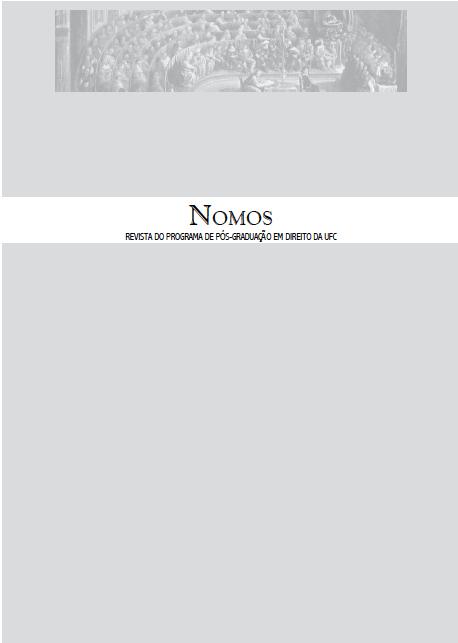 NOMOS - V. 39 - jan./jun. 2019 - Revista PPGD UFC