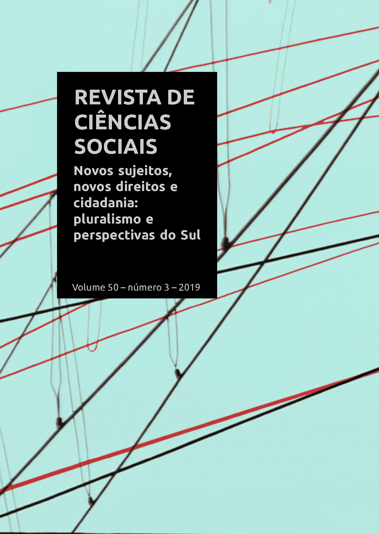 RCS Dossiê Novos sujeitos, novos direitos e cidadania