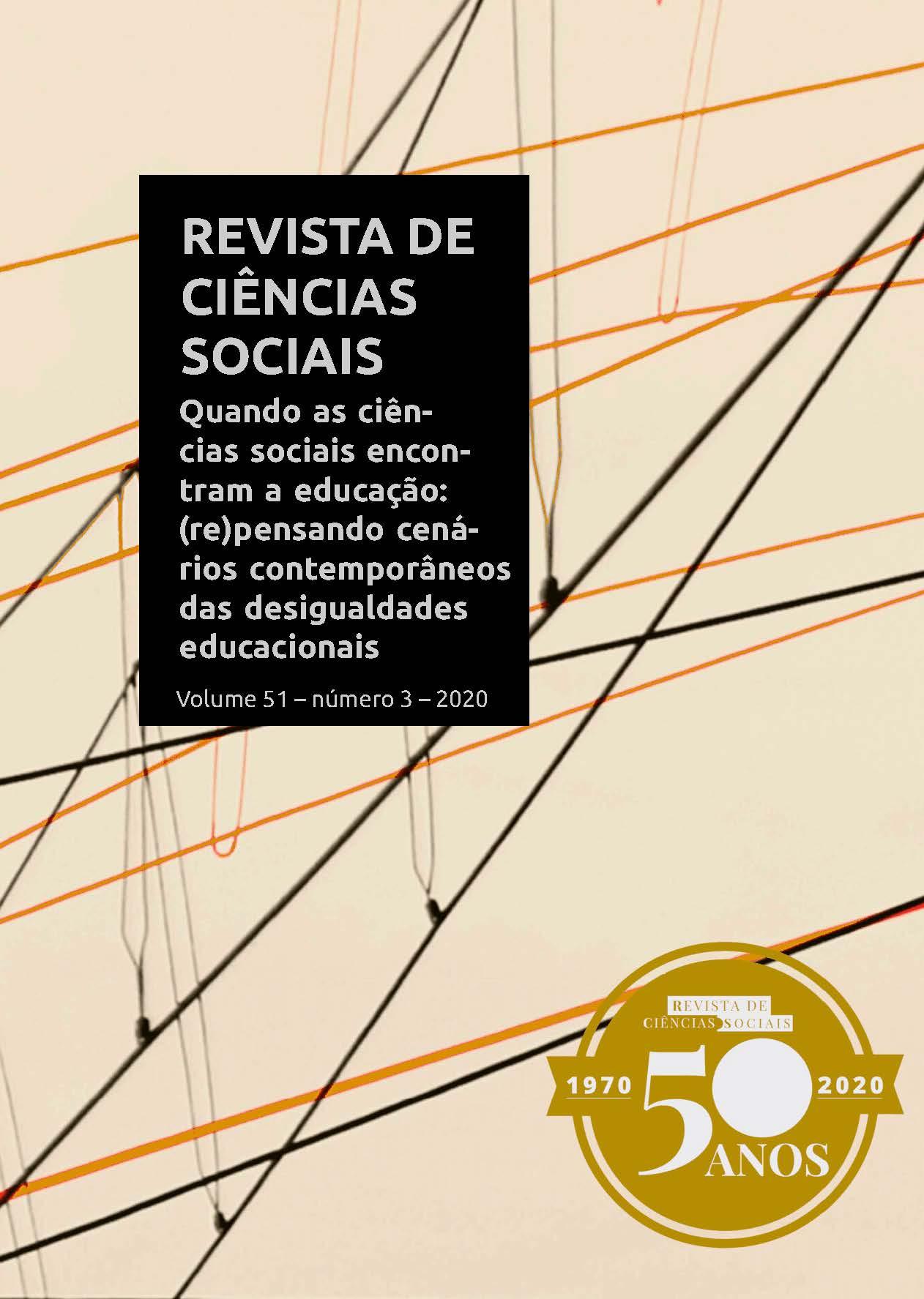 Revista de Ciências Sociais - Dossiê Educação